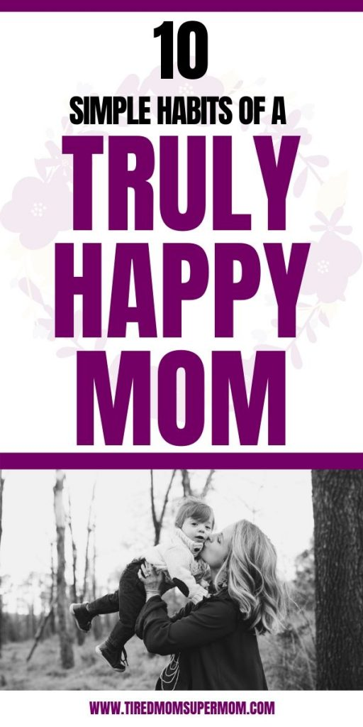 habits of a happy mom
