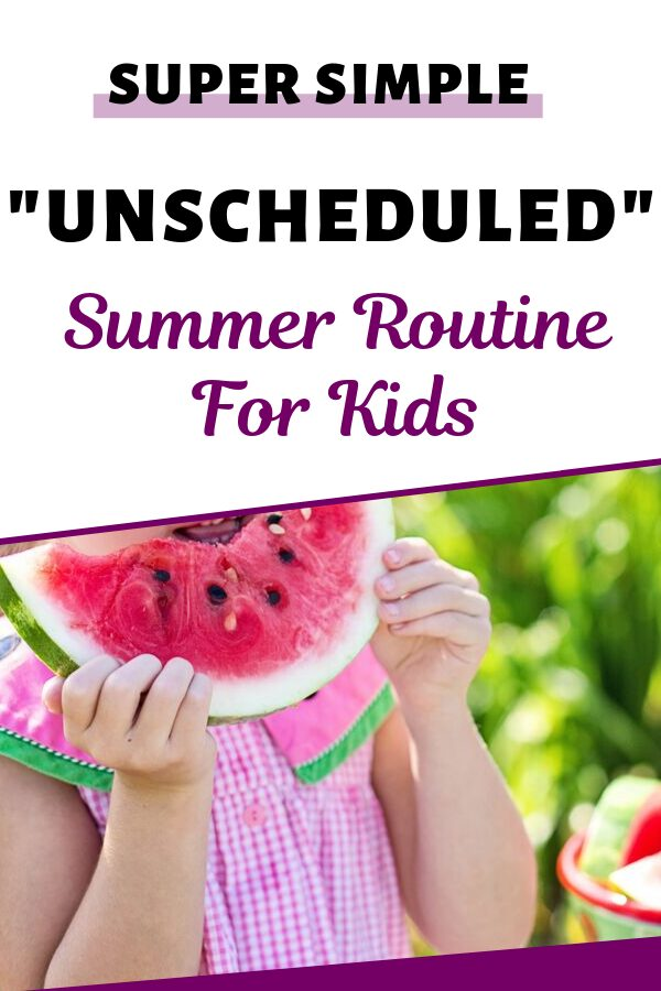 How To Make A Summer Schedule For Kids 1