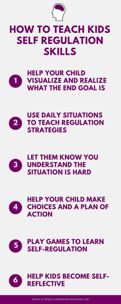 How To Teach Kids Self Regulation Skills