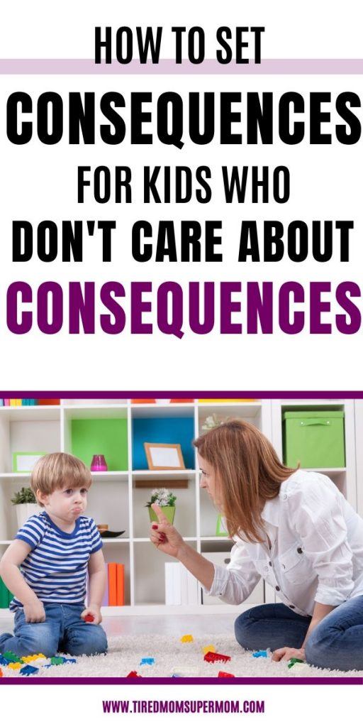 Consequences for kids