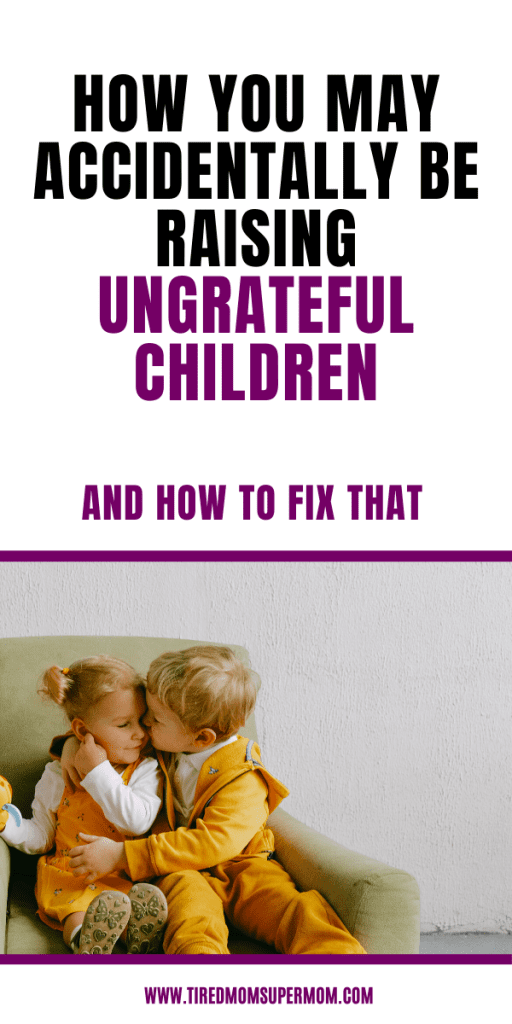 Ungrateful Children