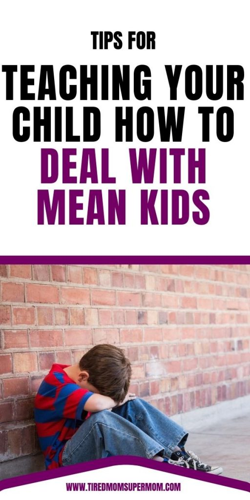 help your child deal with mean friends