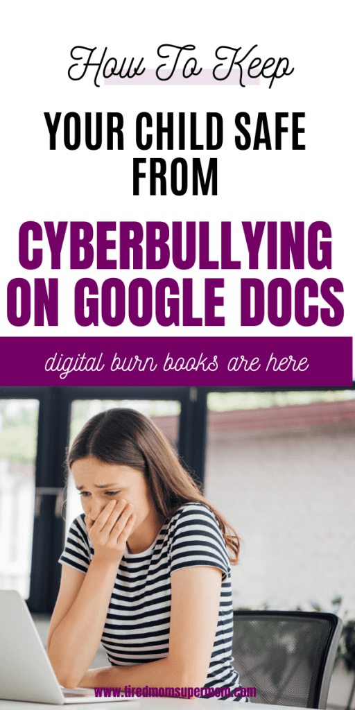 Cyberbullying on google docs, how kids are using school programs to bully their classmates