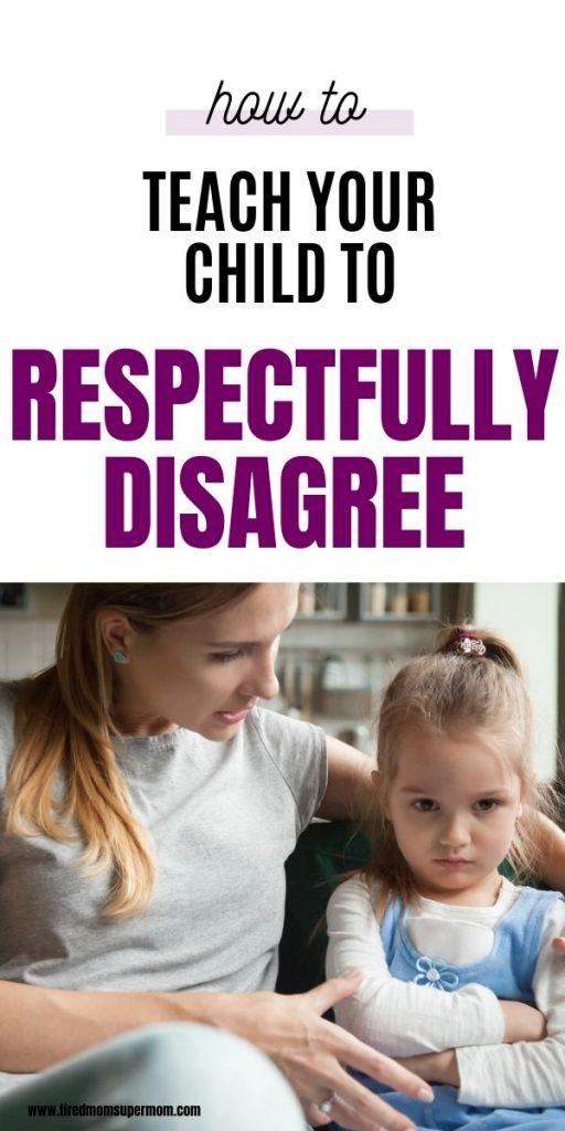 How To Teach Kids Respectful Disagreement 1