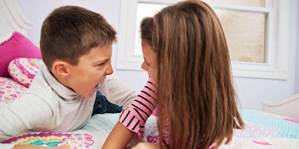 Good Kid Vs. Bad Kid: Sibling Rivalry